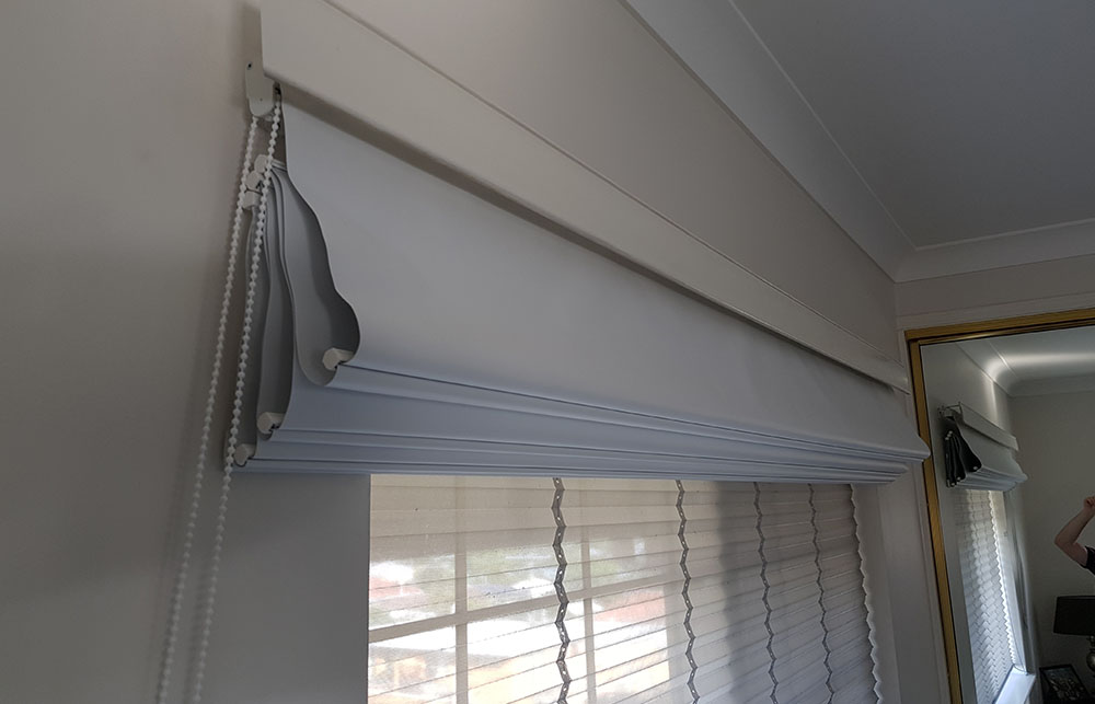 roman blinds brisbane bed 2