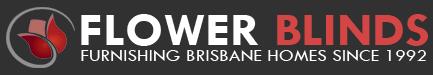 Flower Blinds Brisbane Logo